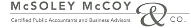 McSoley McCoy & Co. Certified Public Accountants and Business Advisors